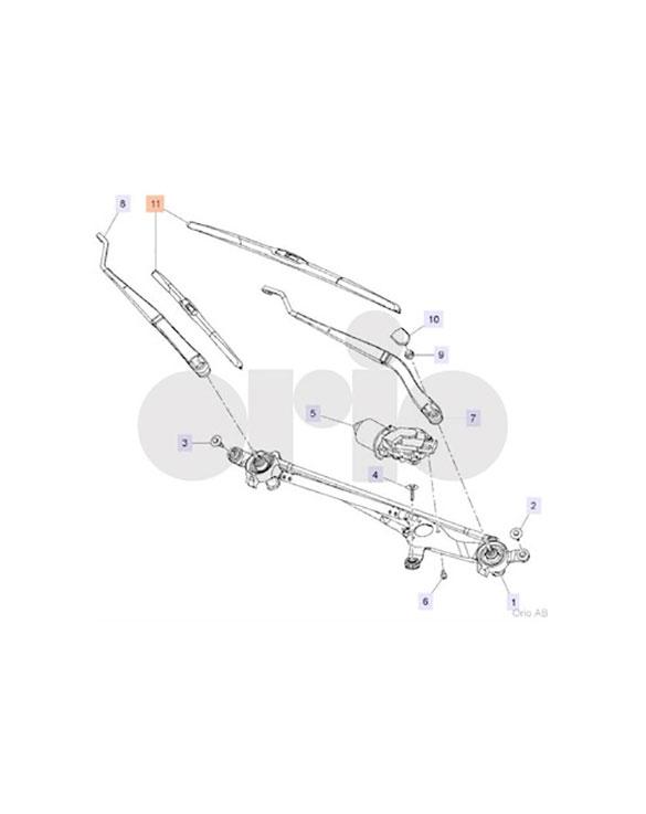 Wiper Blade Kit (9-5 2010-2012)