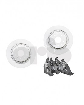Front Brake Kit (Discs And Pads) - 16 vented (300mm)