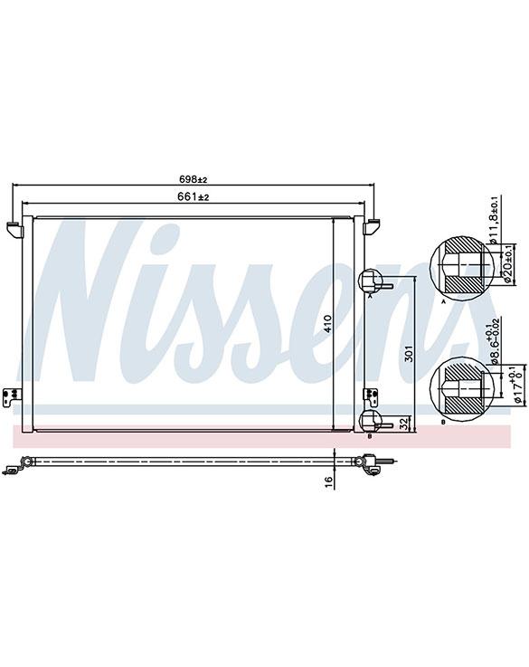Condenser - 9-3 1.9TID / B207 / D223   Manual