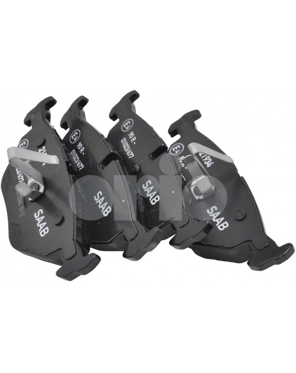 Original Rear Brake Pad Set - 9-5 (99-10) with 300mm discs