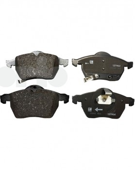 "Saab Original Front Brake Pad Set - 15 and 16"""