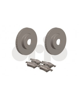 Rear Brake kit (discs & pads) 9-3 models 292mm