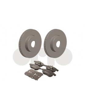 Front brake disc & pad kit (9-3 285mm)
