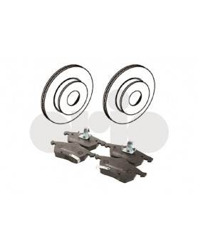 Front Brake kit (discs and pads) 9-5 models (285mm)