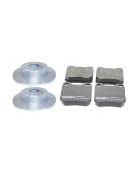 Rear brake kit (discs & pads) 9-5 models (286mm)