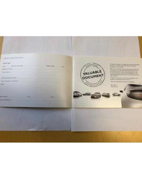 Saab Service Book