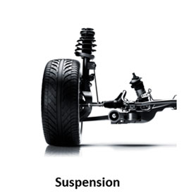 Suspension system for Saab cars